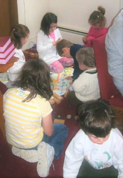 Emanuel Lutheran Church - Children in Worship